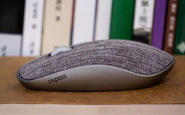 布面辦公新寵兒,雷柏M200plus布面無線鼠標分享