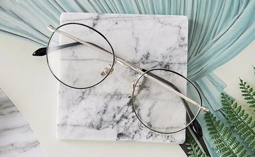 網易嚴選眼鏡架:金屬質感超薄設計,你與學者只差一副眼鏡
