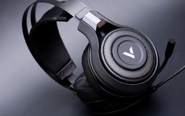 幻彩RGB性价比游戏耳机,雷柏VH520开箱
