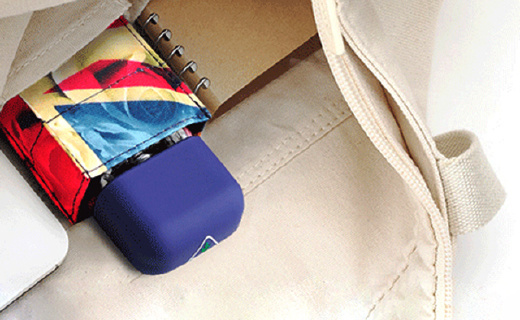 iPhone一样大的口袋雨伞!揣在兜里?#24213;?#23601;走