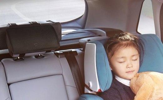 米家车载空气净化器:双轮镜像循环气流,高效吸附车内有害物质