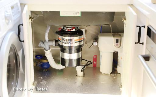 1马力轻?#21892;?#30862;排骨!爱迪生厨房垃圾处理器提升你的生活幸福感