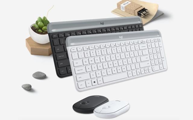羅技MK470無線鍵鼠套裝&K845背光機械鍵盤