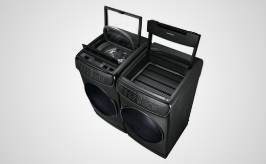 三星四合一智能洗衣机,双洗衣+双烘干