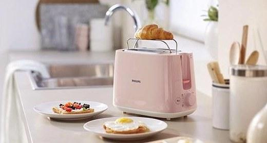 飞利浦全自动面包机:多种烘烤模式,防护功能安全放心