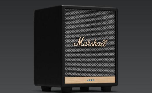 Marshall推出新款智能扬声器Uxbridge Voice,支持三种语音系统
