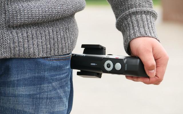 MOZA魔爪Mini-S手持稳定器:玩法多样,收放自如