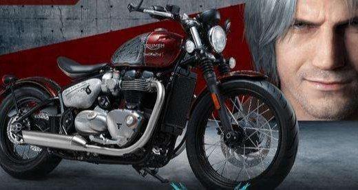 超硬核周邊!卡普空聯合Triumph推出《鬼泣》限定摩托