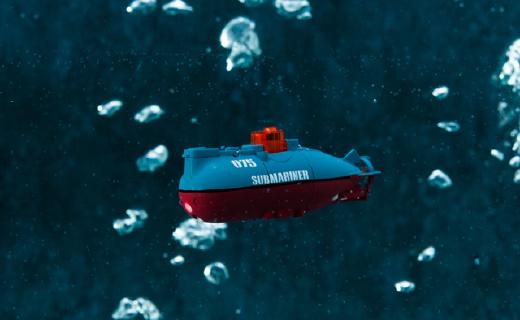 CCP 075??厍彼В禾寤澜缱钚?,支持六种潜水模式