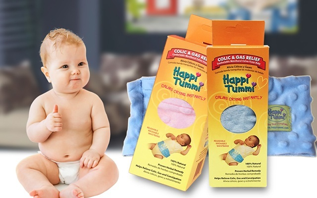 美国happi tummi婴儿防肠胀气裹腹带