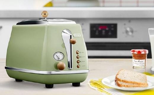 德龙CTO2003面包机:四种模式随意操作,每天早餐都值得期待