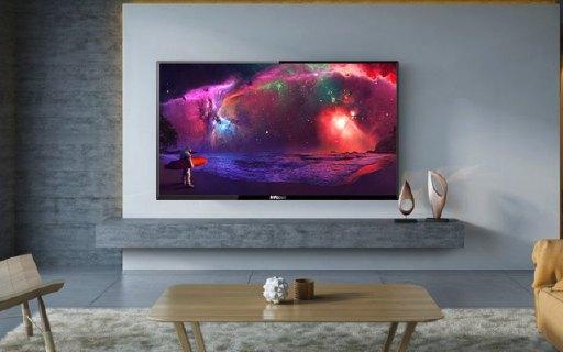 美國美聲小鮮肉富可視智能電視:4K屏幕顯示清晰,雙核CPU流暢追劇