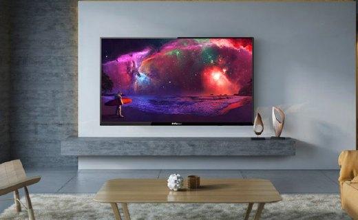 美国美声小鲜肉富可视智能电视:4K屏幕显示清晰,双核CPU流畅追剧
