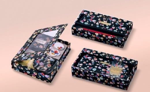 日本知名文具推秋冬限定款,小碎花猫咪元素吸睛