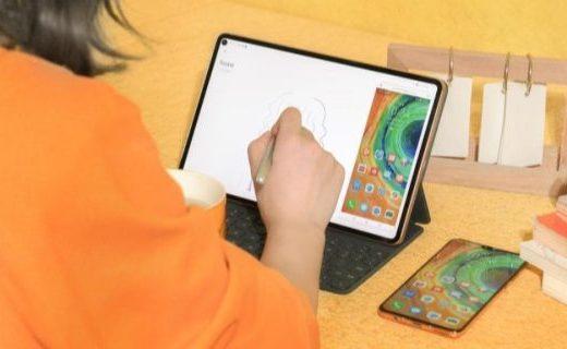 百人共繪2020跨年巨制,華為MatePad Pro以科技助力美學創作