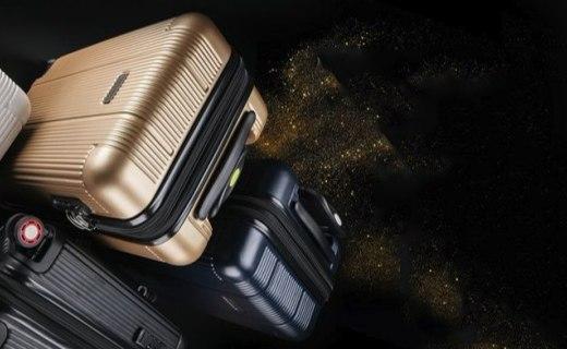 Rockland拉桿箱套箱:PC材質堅固耐用,靜音萬向輪隨意拖拽