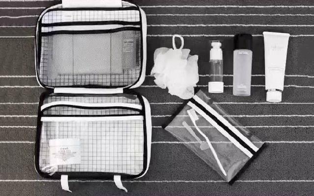 環保防水材質的洗漱包,外出旅行必備利器 — imblu 杜邦紙2.0系列洗漱包評測 | 視頻