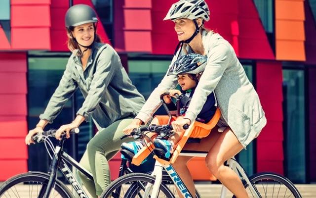 拓樂RideAlong自行車前置兒童座椅