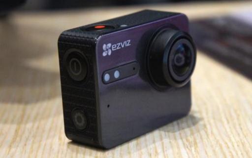 螢石S5運動相機:4K超清拍攝10米防水,APP遠程拍攝更方便