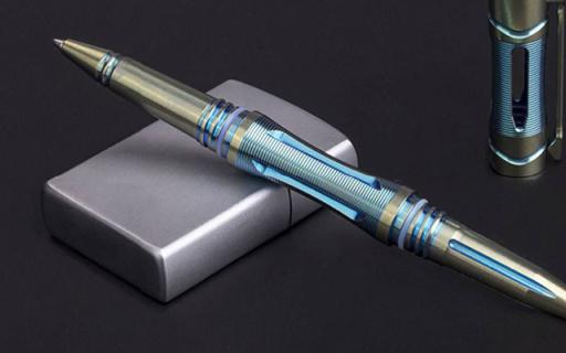能防身?#32617;?#21448;出众的战术笔,连瓦片都能碎 — Fenix T5Ti 钛合金战术笔评测