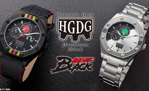 HGDG推出假面騎士BLACK 30周年紀念手表,售價2180元