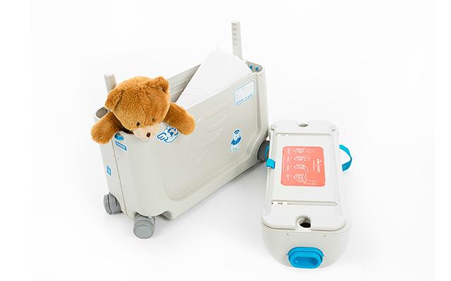 杰卡森儿童行李箱:孩子能骑能拉,宝妈必备