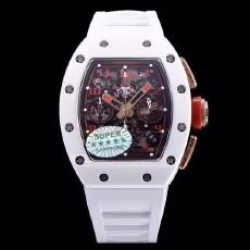 忠一表业:KV厂理查德RM-011系列白色陶瓷腕表