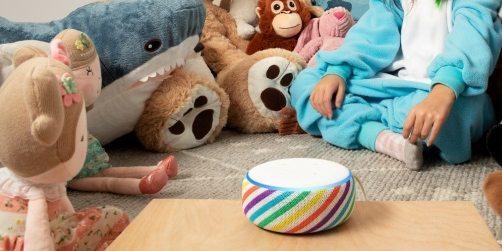 「新東西」亞馬遜發布新款Echo Dot兒童版揚聲器,新增彩虹配色