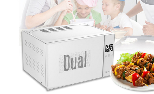 帝而DIK微波爐:集微波蒸煮燒烤一體,遠程控制方便快捷