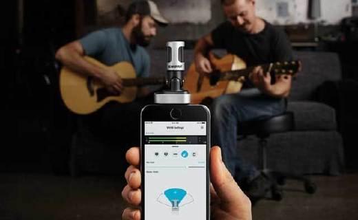 舒爾MV88手機麥克風:聲音錄制更精準,蘋果MIFI認證