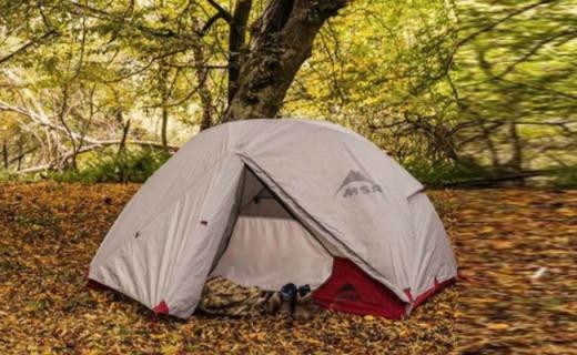 MSR戶外帳篷:透氣網格天棚材質,私密保暖寬敞空間