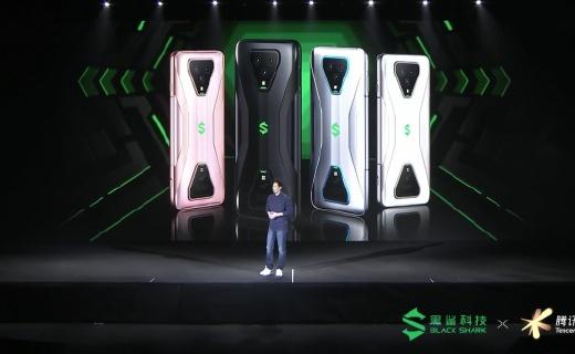 首款5G游戲手機!騰訊黑鯊游戲手機3系列發布,3499元起