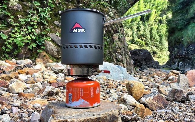 MSR1.7升反应堆炉锅户外喝茶的日子