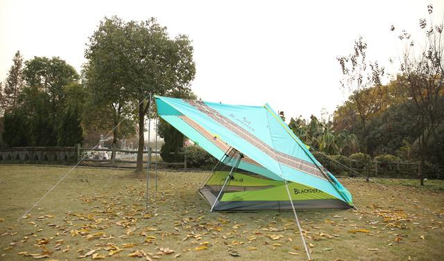 黑鹿飛鳥印第安戶外帳篷 首發試用