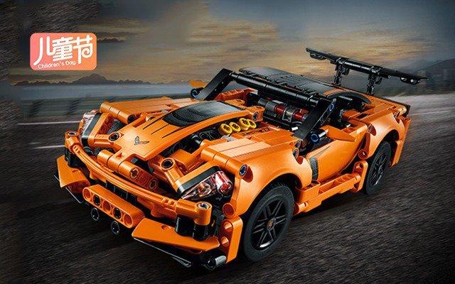 乐高LEGO 雪佛兰 ZR1 跑车积木