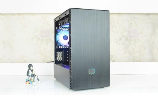 颜值高、散热强,酷冷至尊MB400L智瞳机箱装机实录