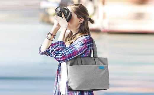 Elecom DGB-S030單肩攝影包:全包圍式內膽抗震防摔,防水面料