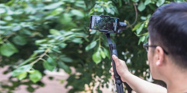 每个人都是生活的导演- | 维圣VILTA-SE手机云台测评