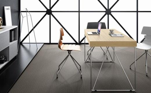 大宇ED10辦公桌:電鍍拋光顏值高,四人辦公足夠用