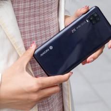 5G手機也有輕薄機身,中興天機11滿足手感黨的所有幻想