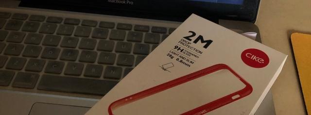 iPhone X的轻薄防摔壳首选——体验cicike小红壳