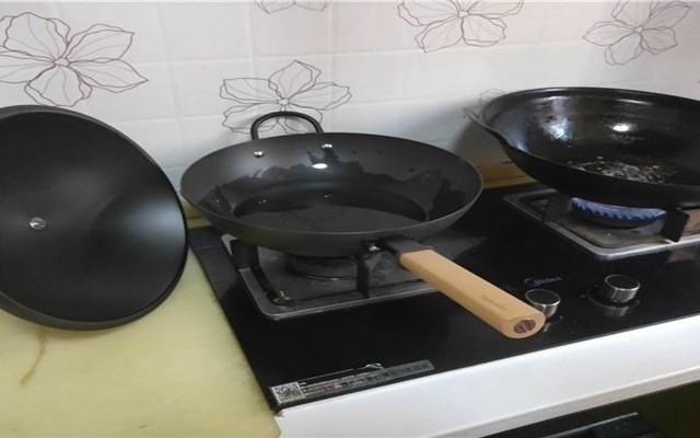 一锅在手,全部拥有?悦味 无涂层大容量铁锅