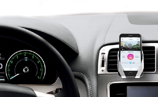一只手就能取放的车载手机支架,结实耐用颜值高