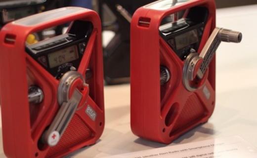 伊頓FRX3急救收音機:手搖式發電方式,操作簡單急救專用