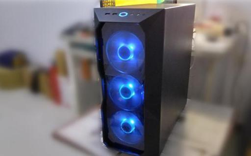 做工精致灯效炫,有颜有料的中塔机箱,酷冷至尊机箱体验