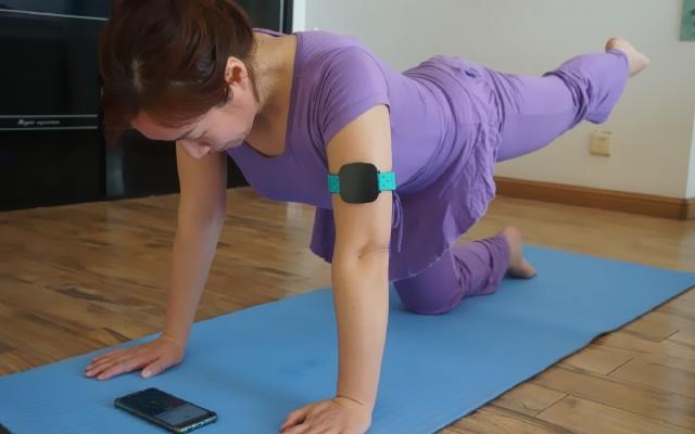 我的私人健身教練---getwell加動T1智能肌氧監測儀測