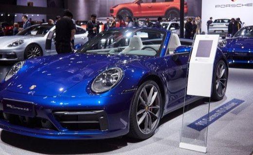 上海车展 | 911 Carrera 4S Cabriolet图赏:全新造型,3.8秒破百,173.80万起