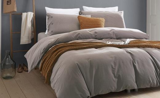 FFF陽絨四件套:又暖又軟活性印染,羊絨手感保暖舒適