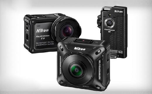 尼康鑰動運動相機,長相一個比一個奇怪