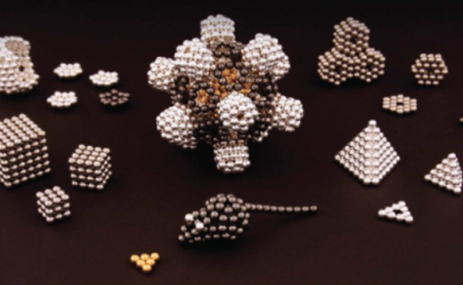 Nanodots DIY磁鐵球:迷你體積強大磁力,21世紀的樂高